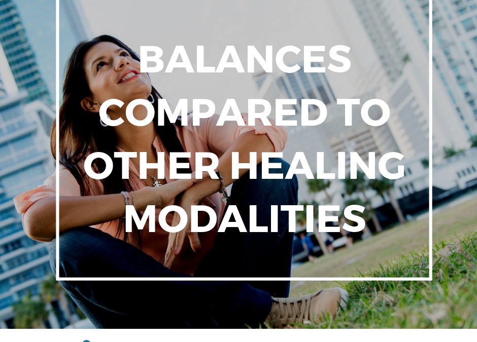 Balances, or other healing modalities?
